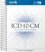 ICD-10-CM 2019: The Complete Official Code Book Cover