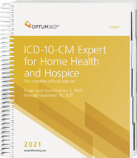 ICD-10-CM Expert for Home Health 2021 Book Cover