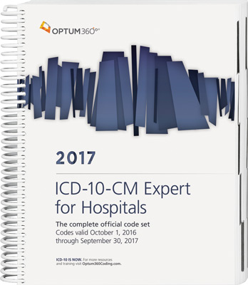 ICD-10-CM Expert for Hospitals 2017 Book Cover