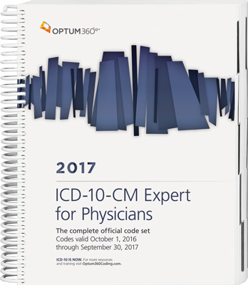 ICD-10-CM Expert for Physicians 2017 Book Cover