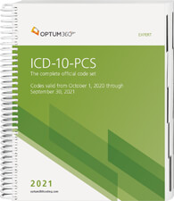 ICD-10-PCS Expert 2021 Book Cover