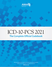 ICD-10-PCS 2021: The Complete Official Code Book Cover
