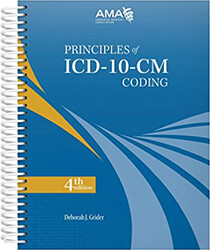 Principles of ICD-10-CM Coding 4th Edition Book Cover