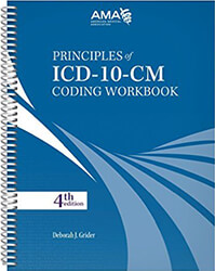 Principles of ICD-10-CM Coding 4th Edition Workbook Book Cover